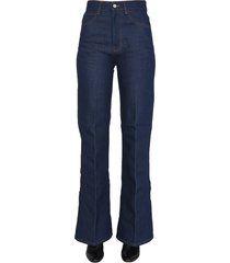 ami alexandre mattiussi flared jeans