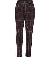 bydana pants - pantalon met rechte pijpen rood b.young