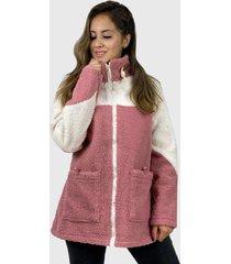 abrigo chiporro boho chic rosado enigmática boutique