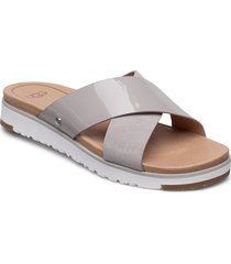 w kari shoes summer shoes flat sandals beige ugg