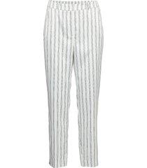 natasha pants byxa med raka ben grå modström
