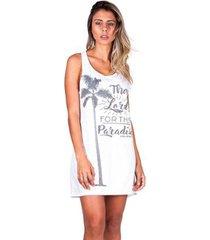 camisa sol & energia dress coqueiro feminina