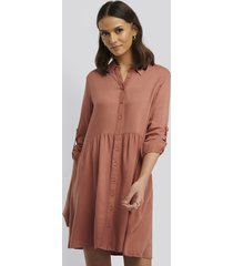 trendyol yol shirt dress - copper