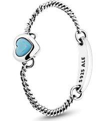 anel amuleto do amor azul