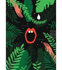 dżungla i plakat 50 x 70