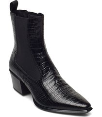 betsy shoes boots ankle boots ankle boot - heel svart vagabond