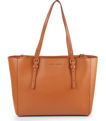 commuter leather tote