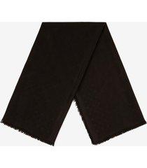 diamond b scarf black 1