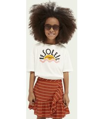 scotch & soda boxy-fit organic cotton t-shirt