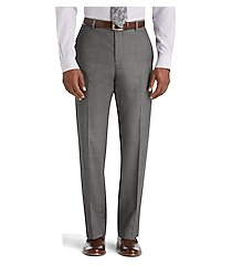 reserve collection tailored fit flat front men's suit separate pants - big & tall by jos. a. bank