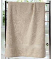 toalha de banho dohler felpudo prisma, bege