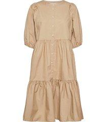 hasitapw dr knälång klänning beige part two