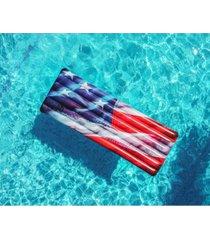 poolcandy stars & stripes deluxe pool raft