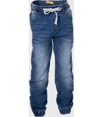 jeans  soft denim jogger azul family shop
