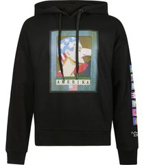 iceberg graphic printed hoodie