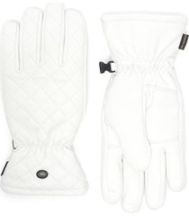 nishi' quilted leather gloves