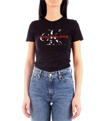 calvin klein j20j213035 t-shirt women black