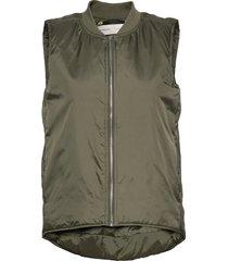 jobyiw waistcoat vests padded vests grön inwear