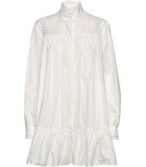 elorie korte jurk wit custommade