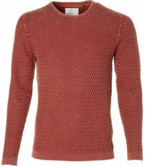 no excess pullover - modern fit - bordeaux