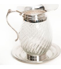 conjunto jarra em prata mã©dia - incolor - dafiti