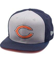 boné new era snapback original fit chicago bears draft - masculino