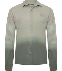 camisa masculina olive heaven - verde