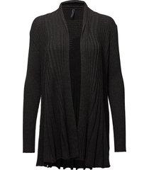 claudisse-l-car stickad tröja cardigan svart free/quent
