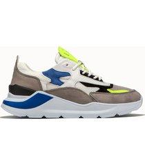 d.a.t.e. sneakers fuga netki colore grigio
