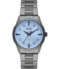 relógio feminino orient casual fyss0001 a1gx