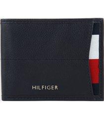 billetera azul-rojo-blanco tommy hilfiger