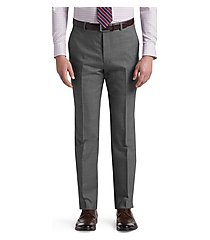 reserve collection tailored fit flat front dress pants by jos. a. bank
