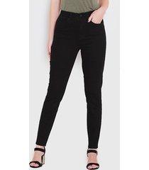 jeans wados pitillo negro - calce ajustado