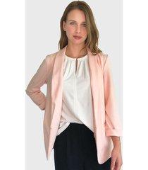 blazer vero moda rosa - calce regular