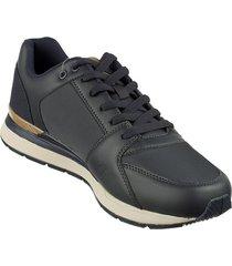 zapato aeroflex azul oscuro mb8805-azo