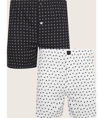 pantaloncillo empaque x 2 amplio plano y estampado-s