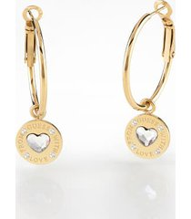 """kolczyki model """"from guess with love"""""""