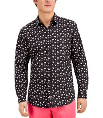 inc men's open heart shirt, created for macy's