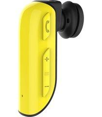 audifonos manos libres bluetooth deportivos, r550 sports portable estéreo inalámbrico bluetooth v4.1 + edr auricular auricular manos libres auricular con control de cámara autodisparador (amarillo)