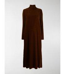 mm6 maison margiela long turtleneck dress