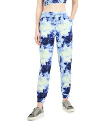 ideology tie-dyed full length joggers, created for macy's