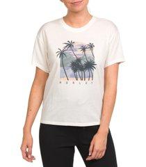 hurley cotton koh lanta washed gf graphic t-shirt