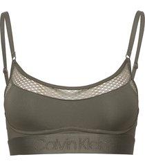 unlined bralette lingerie bras & tops bra without wire grön calvin klein