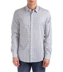 camicia uomo maniche lunghe regular fit