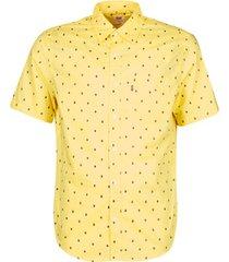 overhemd korte mouw levis hackmanite dusky citron