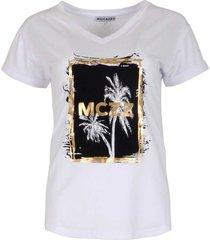 maicazz tenzin t shirt su21.75.008 white gold