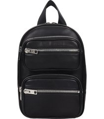 alexander wang attica soft backpack in black leather