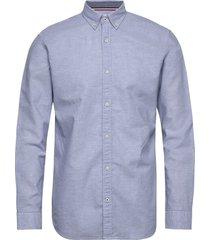 jjesummer shirt l/s s21 sts skjorta business blå jack & j s