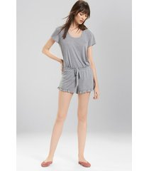 josie jerseys shorts sleep pajamas & loungewear, women's, size l natori