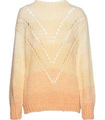 gamon-bl stickad tröja creme storm & marie